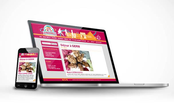 responsive web design site internet