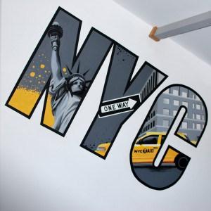 Graff chambre ado