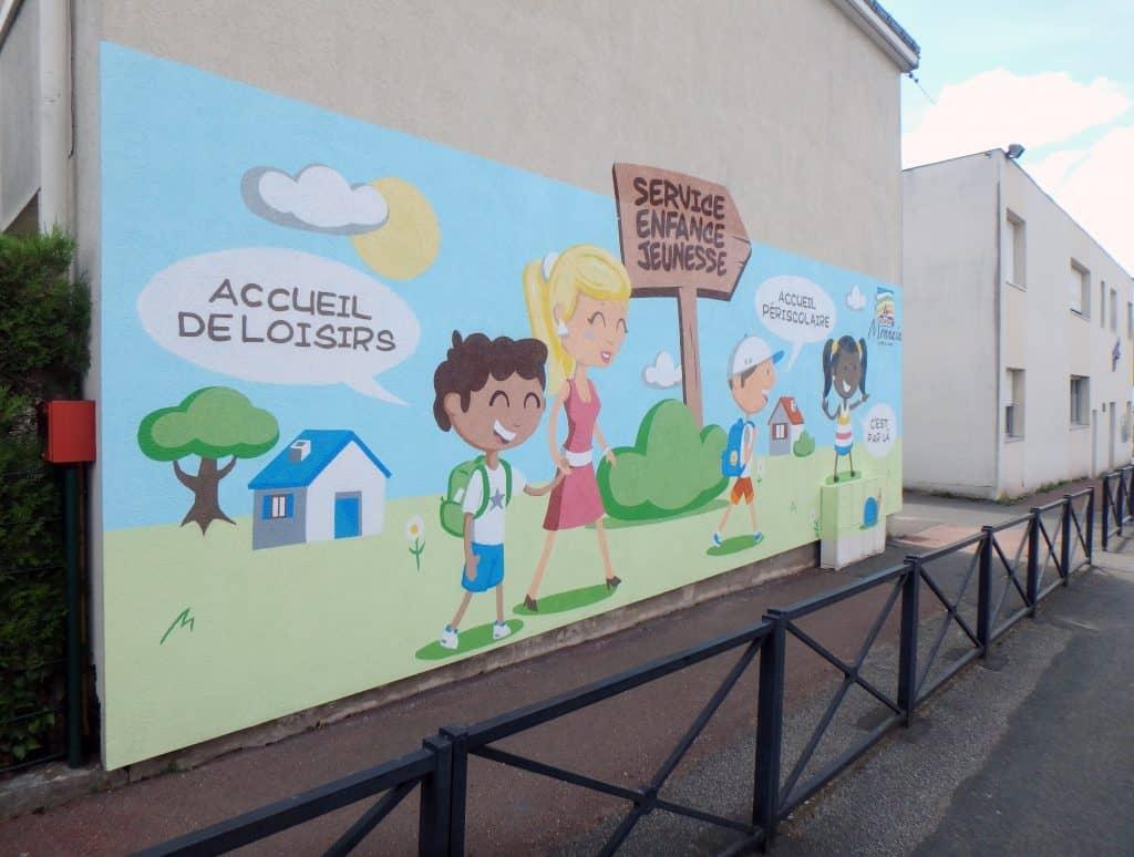 Graffiti street-art atelier pédagogique