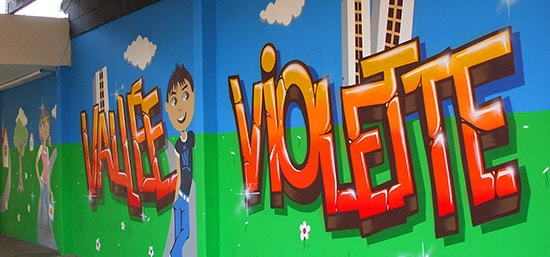 Graffiti par Kevin Le Gall
