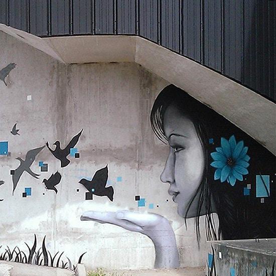 street-art par Kevin Le Gall