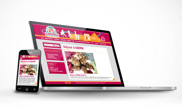 responsive web design site internet