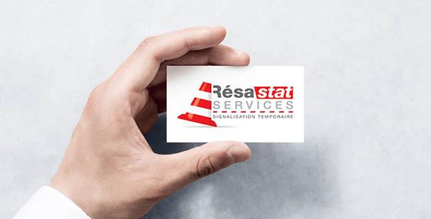 Création de logo - Résastat