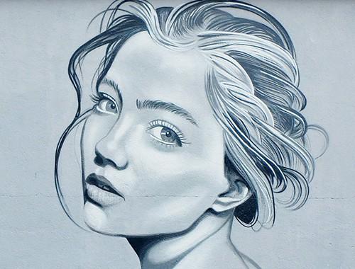 Portrait Graffiti par Kevin Le Gall